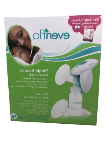 new compact handheld single electric breast pump