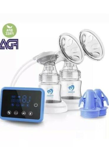 New Bellababy Double Breast Feeding Pumps Pain Free Strong Suction