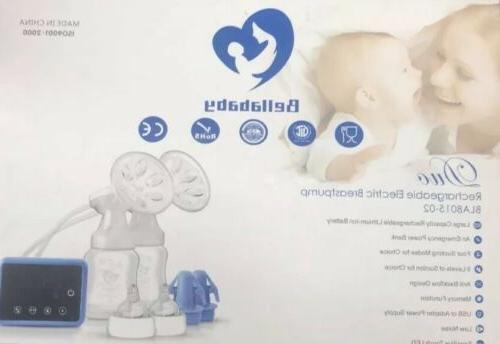 new double electric breast feeding pumps pain