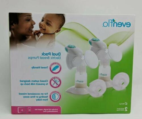 new dual pack electric breast pumps model