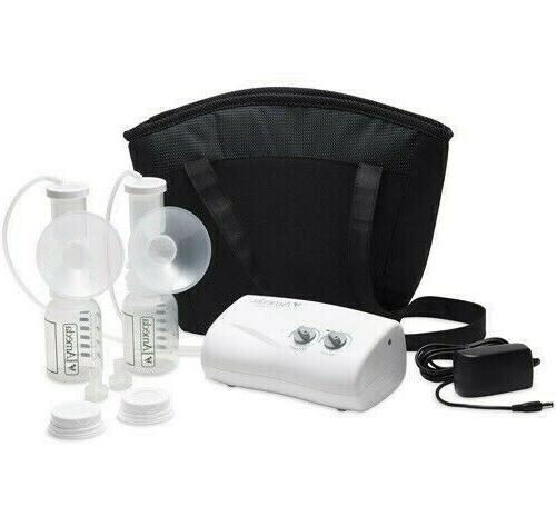 new finesse double electric breast pump bundle