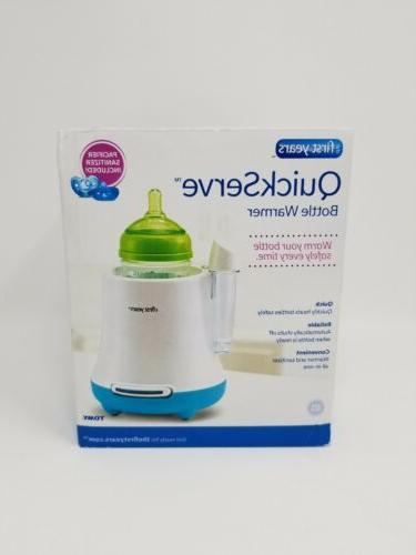 new quick serve bottle warmer with pacifier
