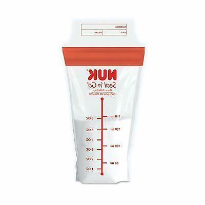 - NEW NUK Seal Milk Bags,