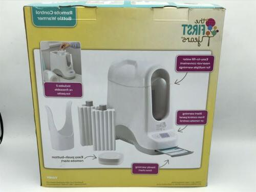 NEW Sealed Years Remote Control Baby Bottle Warmer