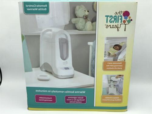 new sealed remote control baby bottle warmer