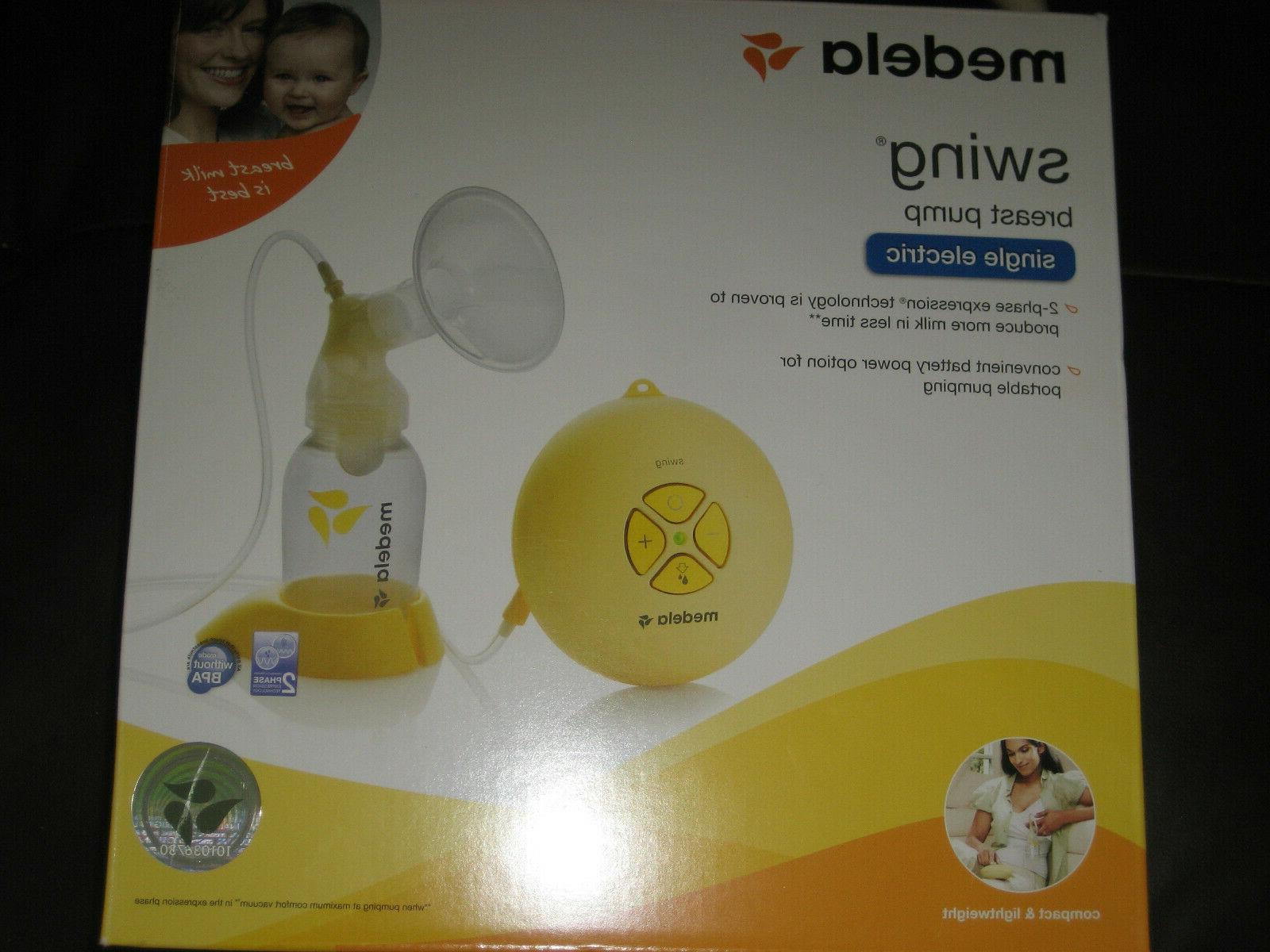 new swing single electric breast pump 67050