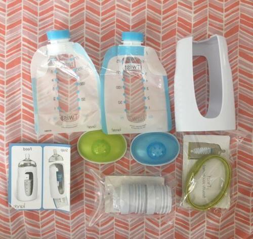 new twist breastfeeding pump sample starter pack