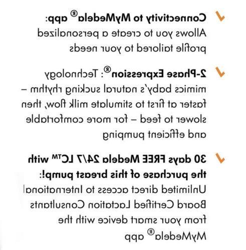 NIB Flex Wireless Breast And Accessories