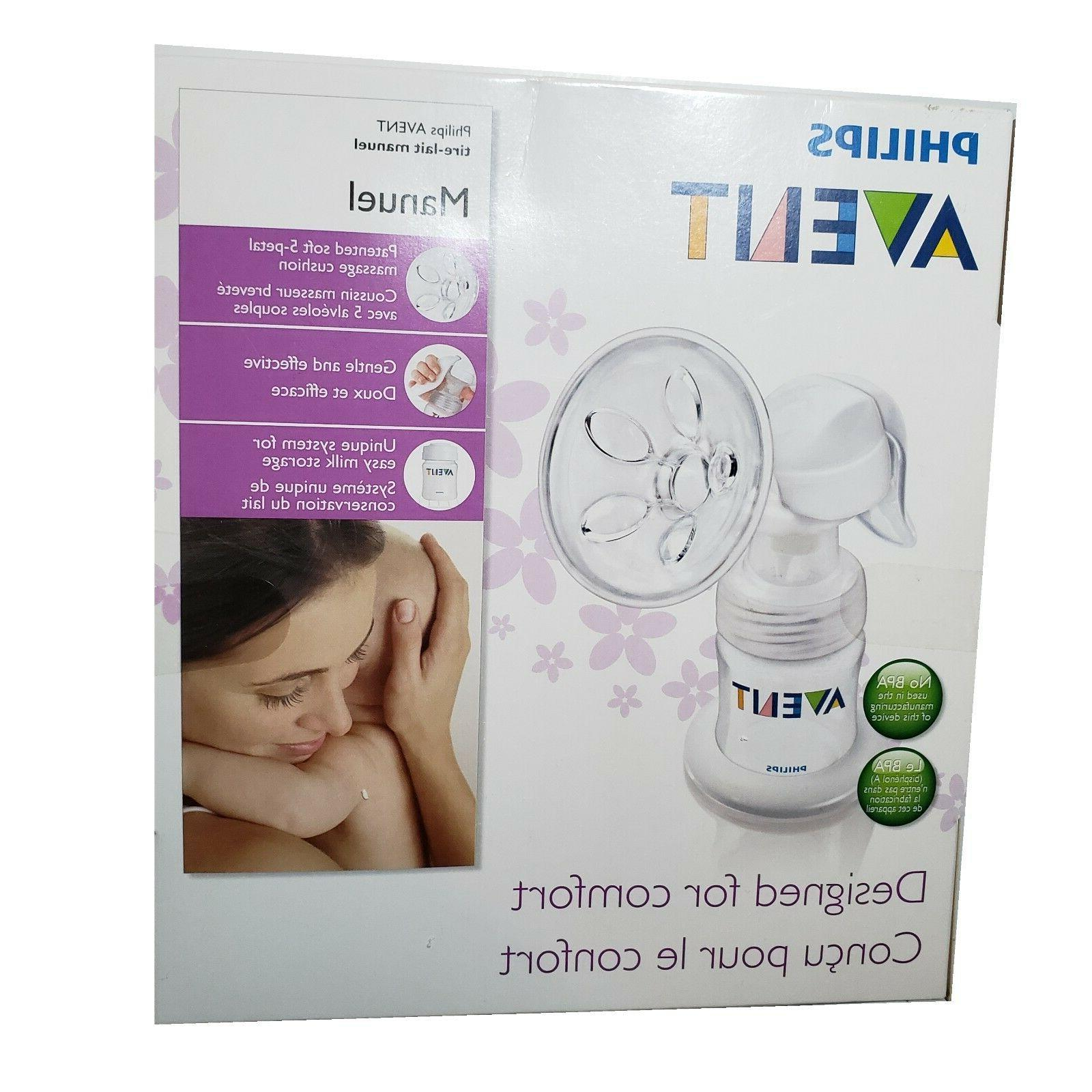 nip by philips manual breast pump contain