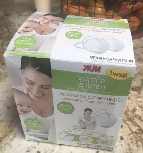 nuk simply natural collection cups breast pump