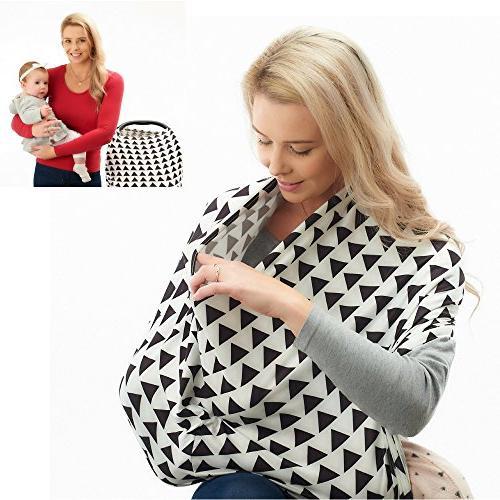 nursing breastfeeding privacy cover scarf