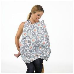 Balboa Baby Nursing Cover - Grey Dahlia