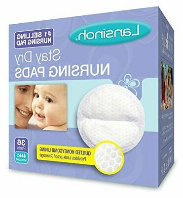 nursing pads pack of 36 stay dry
