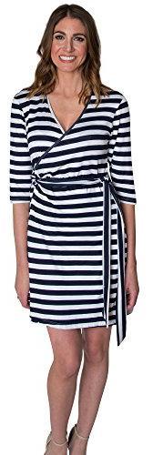 Women's Udderly Hot Mama 'Whimsical' Nursing Wrap Dress, Siz