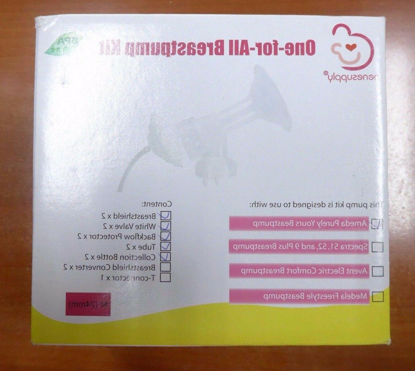 one for all breastpump parts kit