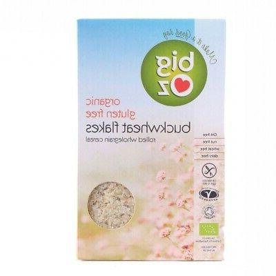organic buckwheat flakes 5 x 500g brand