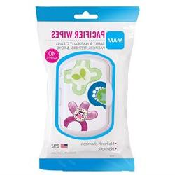 MAM Pacifier Wipes - 40 Count
