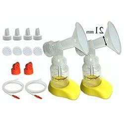 Personal Accessory Set for Hygeia EnJoye Breastpump - Includ
