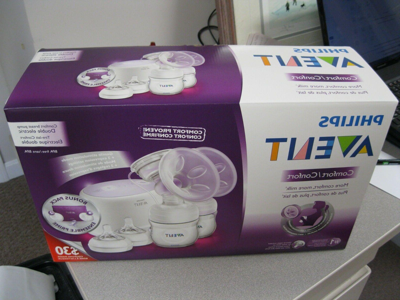 PHILIPS AVENT NATURAL TWIN ELECTRIC BREAST PROVEN