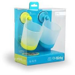 Puj 2 Pack PhillUp Hangable Kid Cup AQUA