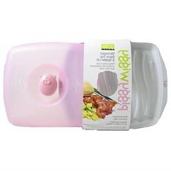 Jole Piggy Wiggy Microwave Bacon Tray & Splatter Lid 78416