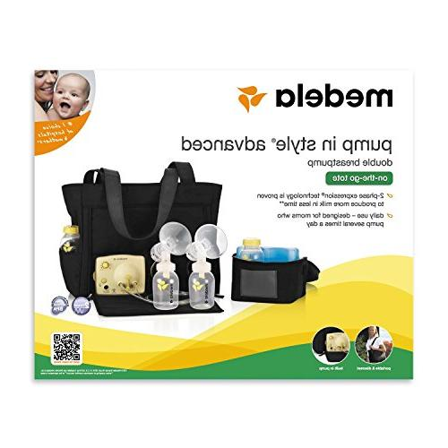 Medela in Advanced Breast with On the Go with Breast Milk Collection and 5