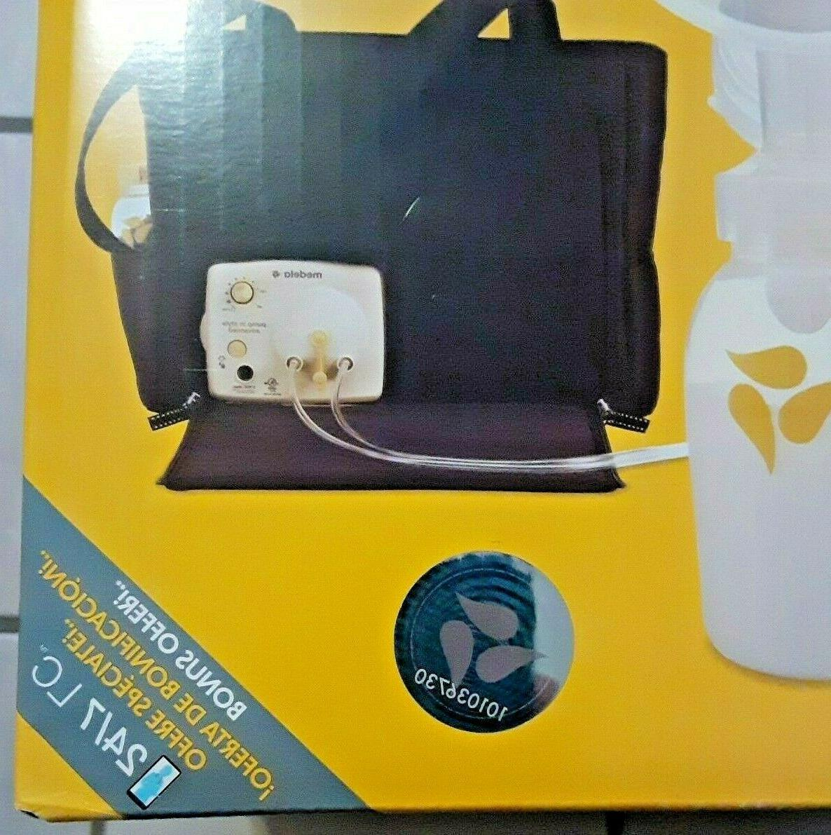 Medela Pump Advanced Portable Double Breast with Tote