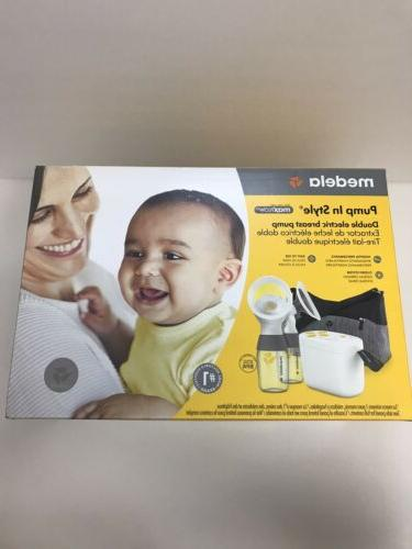 pump in style maxflow double breast pump
