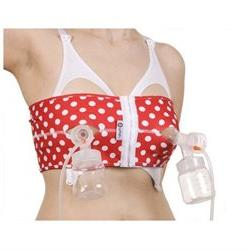 PumpEase Fabulous 50's Collection hands-free pumping bra XL