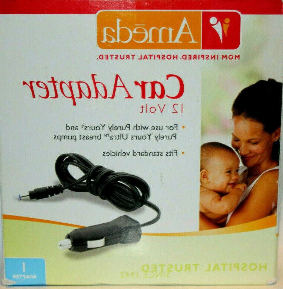 purely yours and ultra breast pump car