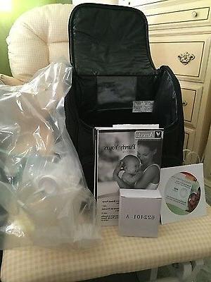 Ameda Double Breast Pump backpack