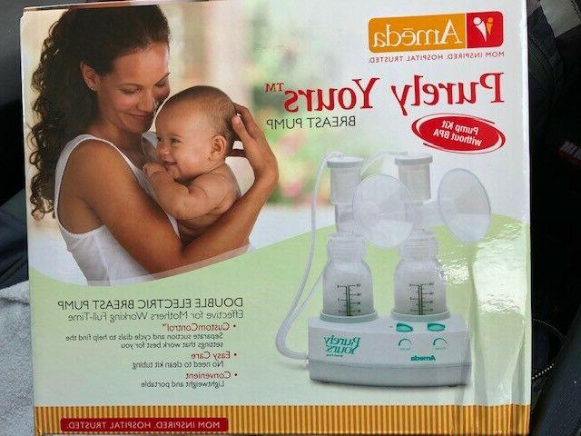 purely yours double electric breast pump