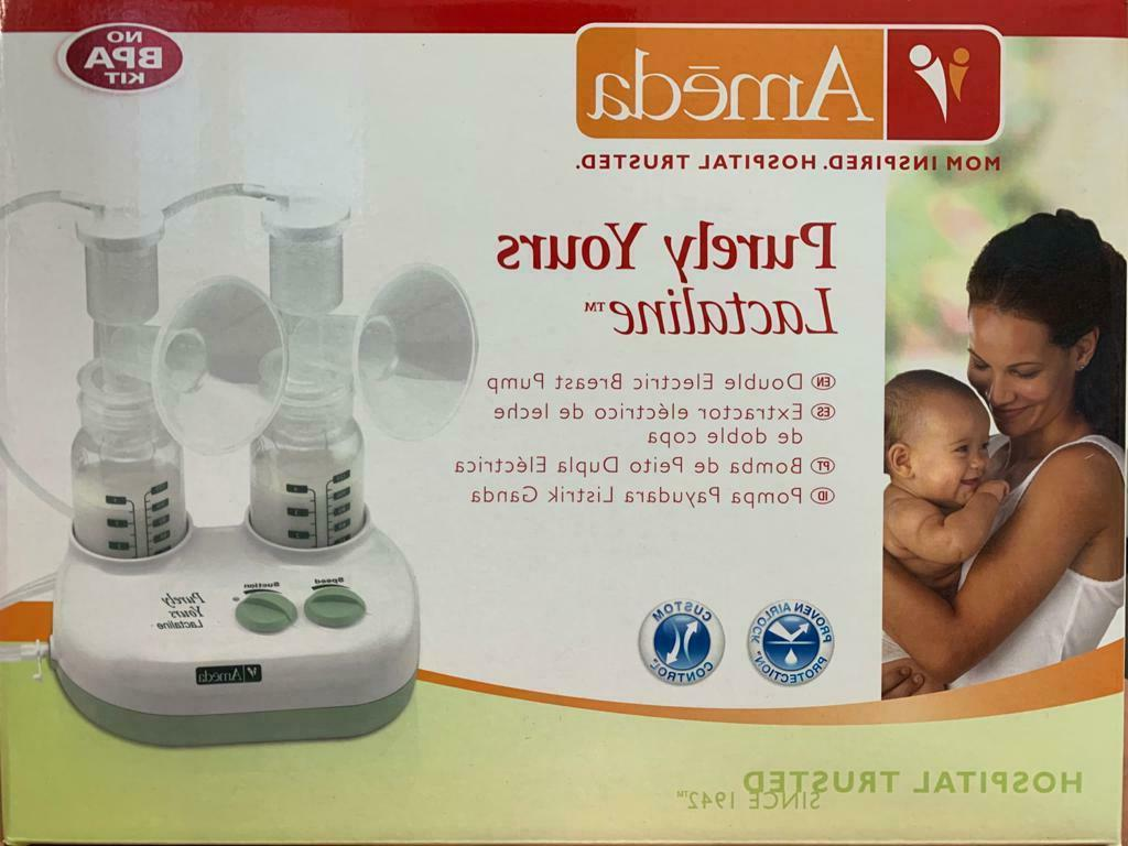 purely yours ultra breast pump with accessories