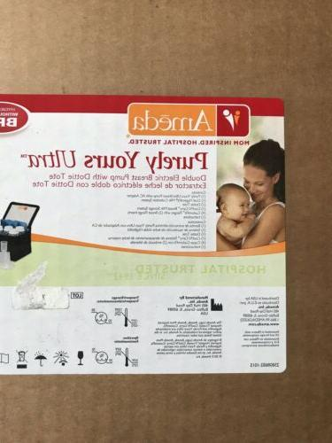 purely yours ultra breast pump with carry