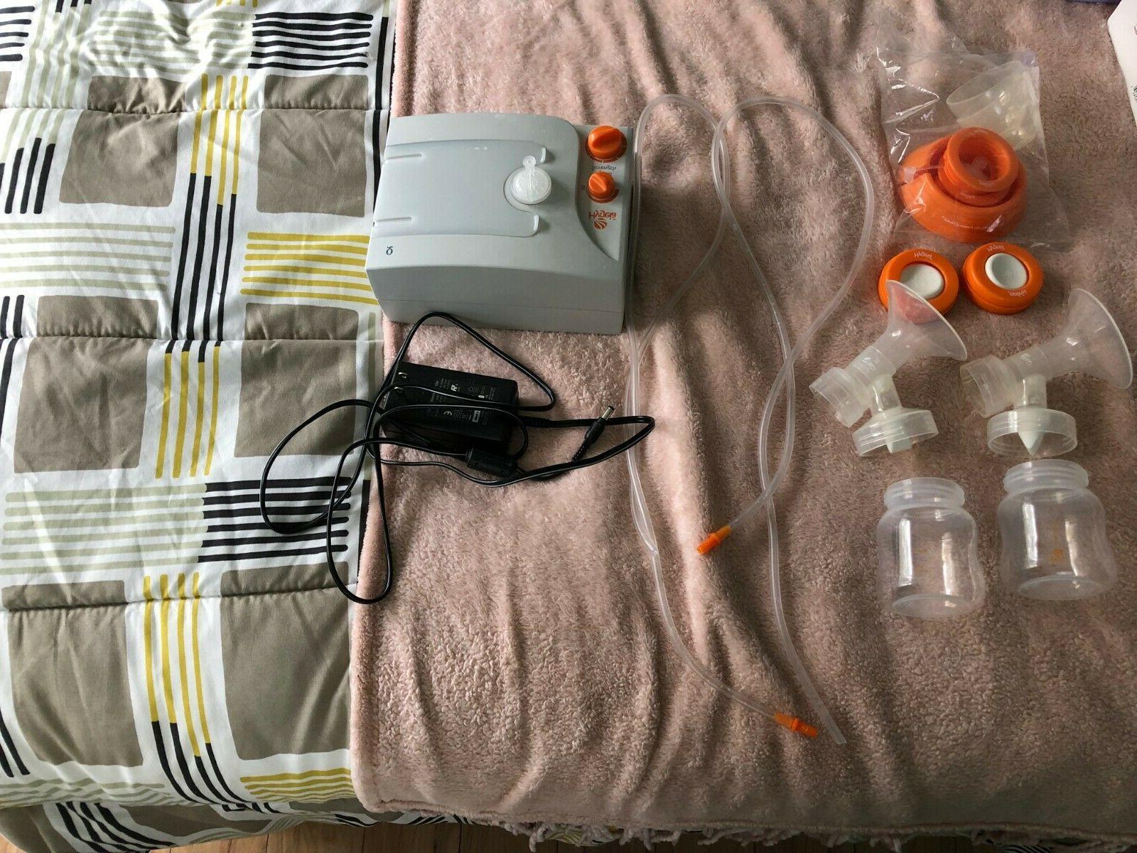 q double electric hospital grade breast pump