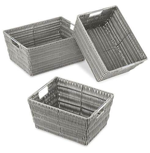 rattique storage baskets