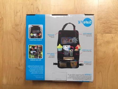 Safefit Backseat Stroller Organizer Durable & NEW