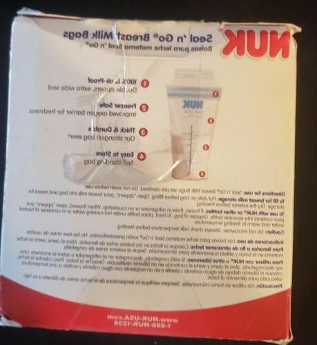 Nuk Seal N Breast Ounce Count Leak