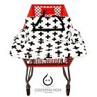 Kaydee Baby Shopping Cart and High Chair Cover Black and Whi