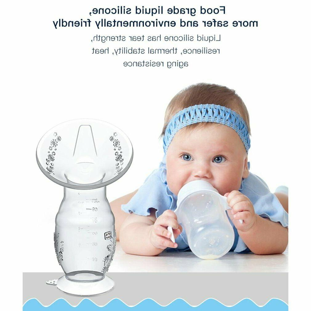 Silicone Breastfeeding Supplies Strong Manual Pumps