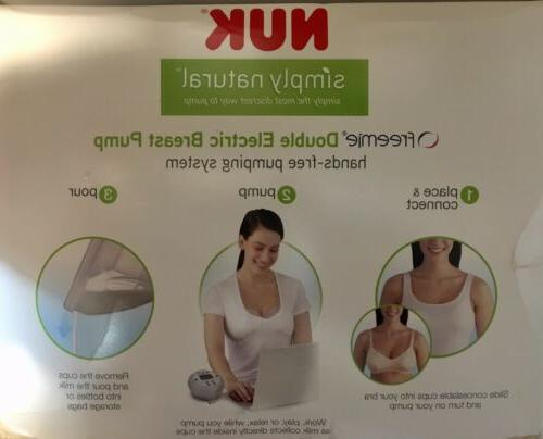 NUK DOUBLE ELECTRIC BREAST *HANDS NEW SEALED