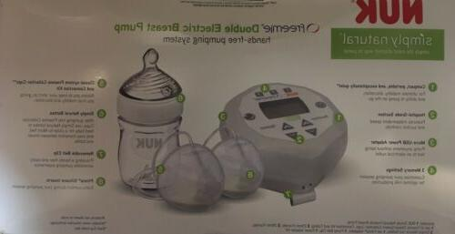 simply natural freemie double electric breast pump