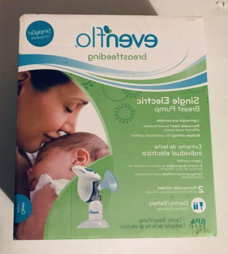 single electric breast pump comfortable breastfeeding