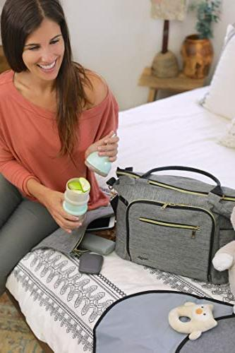 Smart Baby Diaper with Portable Bag Large Unisex, Breast Pump