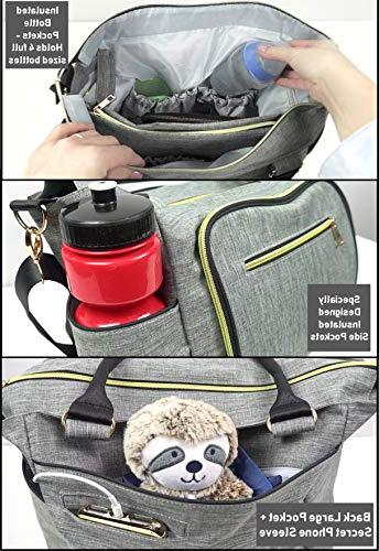Smart with Portable Changing Bag – Large Unisex, for Breast