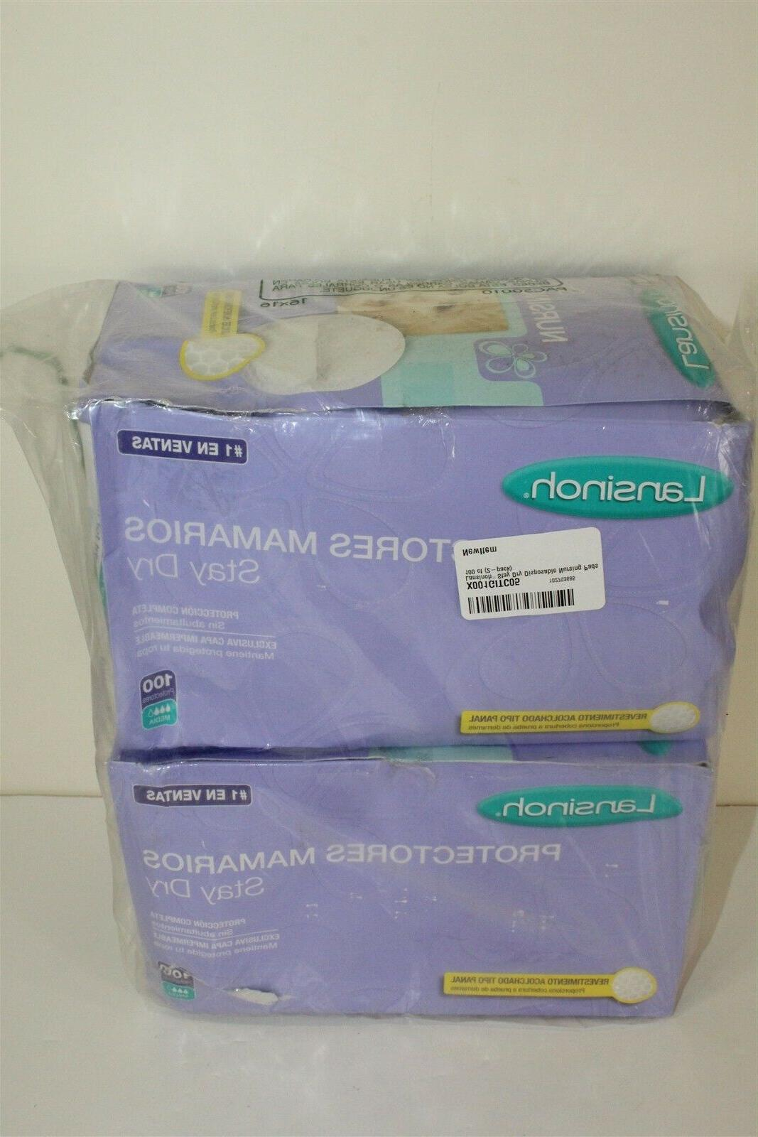 stay dry disposable nursing pads 2 boxes