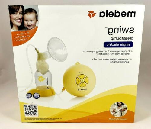 swing breast pump new in sealed box