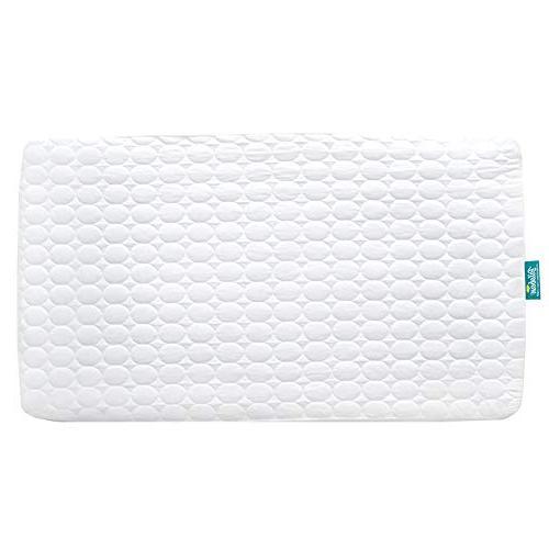 Biloban Toddler Waterproof Crib Mattress Pad Cover,Hypoaller