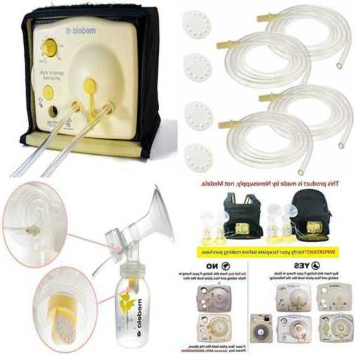 Tubing  and 4 Membranes for Medela Pump In Style Advanced