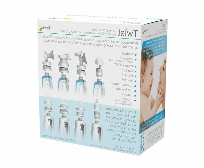 Kiinde Twist Bag Bottle Kit All
